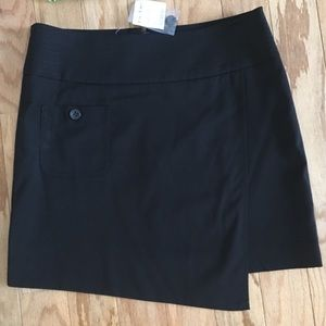 NWT - BEBE Black Asymmetric Skirt